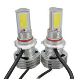Pair 39W 4500LM COB LED Headlight Bulbs H4 H7 H8 H9 H11 9004 9005 9006 9007 IP65