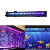 Acuario Pecera multicolor LED Luces subacuáticas Impermeable Lámpara