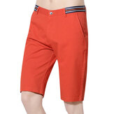 Summer Cotton Knee-length Outdoor Cargo Pants for Men