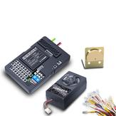 1 مجموعة G.T.Power حاوية شاحنة التطبيق مراقبة الإضاءة والصوت نظام اهتزاز PRO لقطع غيار السيارات rc
