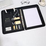 Men Multi-function Folder Zipper Briefcase
