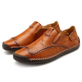 Menico Mocasines Slip-on de gran tamaño Soft