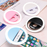 Bakeey Selfie 36 LEDS Fill Lamp Ring Light Universal Clip 3 levels Brightness For Cell Phone