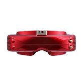 SKYZONE SKY04X OLED 5,8 GHz 48-Kanal-Steadyview-Empfänger 1280 x 960 Display FPV-Brille unterstützt DVR mit Head Tracker-Lüfter für RC Racing Drone
