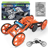 SUBOTECH FAI DA TE 005 auto a quattro ruote motovibrante modello di auto giocattoli per bambini puzzle educativo