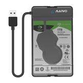 MAIWO K105 2,5 '' USB 3.0 Gabinete de disco rígido SATA Solid State Drive Caso Ferramenta gratuita para disco rígido SSD de 9,5 mm