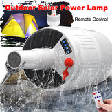 Solar Powered Shed 24 / 42LED Light Bulb Rechargeable Portable Hanging Hook Tent Camping Emergency Lamp