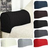 2 uds fundas elásticas para reposabrazos de muebles Impermeable fundas para sofá fundas para sofá, protectores para brazos, Protector antideslizante para muebles