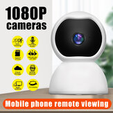 Guudgo Bewakingscamera 1080P IP Smart Camera WiFi 360 Hoek Nachtzicht Camcorder Video Webcam Baby Home Security Monitor