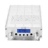 ST-15B 1.5W/15W FM Broadcast Transmitter Stereo PLL FM Radio Broadcast Station with 87MHz-108MHz