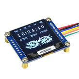 Waveshare® 1.5 inch OLED Module SSD1327 Driver I2C Communication Compatible with Jetson Nano 128x128 General 1.5inch Display Board