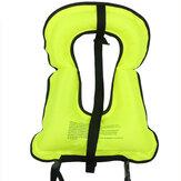 Colete inflável manual da roupa do equipamento de esportes da água do boia salva-vidas do revestimento de vida