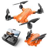 HR H9 Mini 2.4G WiFi FPV con 4K HD Doble Cámara 20 minutos Tiempo de vuelo Modo de retención de altitud Plegable RC Drone Cuadricóptero RTF