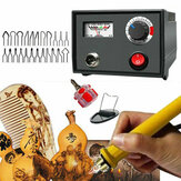 110 V 220 V 60 W Multifunctionele Houtverbranding Pen Tool Pyrography Machine Set Kit Brander