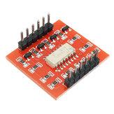5Pcs A87 Module d'isolation à optocoupleur à 4 canaux, carte d'extension de niveau haut et bas Geekcreit pour Arduino - produits qui fonctionnent avec les cartes officielles Arduino
