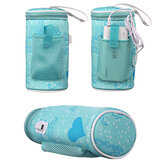Baby Bottle Thermostat Bag Car Portable USB Heating Intelligent Warm Milk Tool Insulation Cover