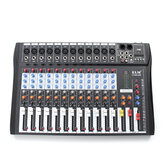 EL M CT-120S 12 Kanal Professionelle Live Studio Audio Mixer Power USB Mischpult
