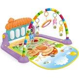 Cadre de remise en forme harpe de pied bébé nouveau-né pad de jeu enfants secouent les jouets éducatifs d'intérieur