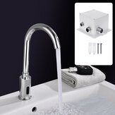 Infrared Sensor Kitchen Sink Faucet Smart Touchless Single Cold Water Tap