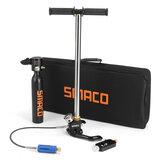 SMACO 0.5L الغوص الغوص اسطوانة أكسجين أدوات التنفس تانك