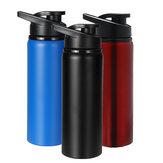 700mlOutdoorTragbareTrinkflascheEdelstahlDirekt Trinkbecher Sport Reisewasserkocher