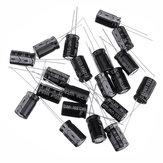 100Pcs Alta Frequenza Bassa Impedenza Condensatore Elettrolitico Alluminio 25 V 1000uF 10 * 13 MM 1000uf 25v 25V1000uf
