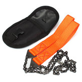 Gardening Hand Chain Saw Orange Handle 65 Mangaan Steel Hand Felling Zaag Outdoor Portable Saw
