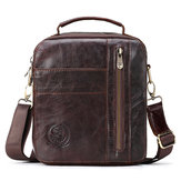 Men Shoulder Bag Genuine Leather Messenger Bag