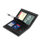 Rocketek Metal TF Memory Card Collection Slot Card Adapter Organized Management Storage Box