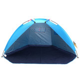 240 x 120 x 120 cm Outdoor Beach Tent 2 Persons UV Ochrona Ultralight Folding Fishing Sunshade