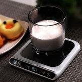 55 ℃ Tapis chauffant de tasse à température constante Chauffe-thé électrique 3 vitesses USB Charge Smart Touch PTC Chauffage