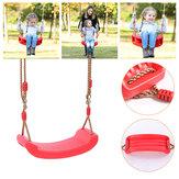 Outdoor Indoor Kinderschaukel Kinder verstellbares Seil Soft Schaukelgarten Hinterhof Hängesessel Max. Belastung 200 kg