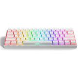Gamakay MK61 clavier mécanique filaire Gateron interrupteur optique pudding keycaps RGB 61 touches clavier de jeu échangeable à chaud