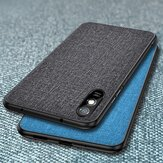 Bakeey for Xiaomi Redmi 9A Case Breathable Canvas Sweatproof Shockproof Protective Case Back Cover