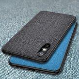 Bakeey per Xiaomi Redmi 9A Custodia traspirante in tela traspirante antiurto Custodia protettiva per retro