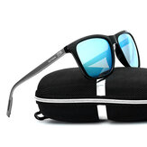 UV400 Polarized Sun Glassess Square Frame Driving Glasses