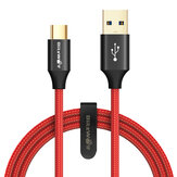 BlitzWolf® AmpCore Turbo BW-TC9 3A 3ft/0.9m USB Type-C Fast Charging Cable USB 3.0 5Gbps Data Transmission Cord For Huawei P30 P40 Pro Xiaomi Mi10 Redmi Note 9S