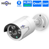 Hiseeu HB615 H.265 5MP Beveiliging IP-camera POE ONVIF Outdoor waterdicht IP66 CCTV P2P Videocamera