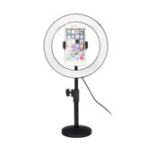 6500K 120 LED Ringlamp Dimbare Kit Stand Telefoonclip voor Video Studio Make-up