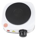 220V-230V 500W Mini Electric Hot Plate Stove EU/US Power Protection Function Practical Countertop Temperature Controlled Heating Furnace