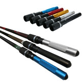 12 polegadas de alumínio Piscina Cue Long Varanda Extensão Push on Telescopic Snooker Billiard Accessories