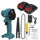 1200W 6 Inch Electric Chain Saw 7500mAh Rechargeable Handheld Logging Saw W/ 1 or 2 Battery