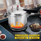 Pentole a cottura rapida in alluminio argento MECO 4L Pentole per cucina