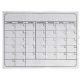 Lavagna Calendario settimanale mensile magnetico del pianificatore per il frigorifero