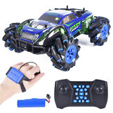 1:16 RQ2078 Four-Wheel Drive Gesture Sensing Dual RC Light Music Dancing 360 ° Rotating Off-Road Climbing RC Car