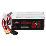 URUAV 22.2V 6500mAh 45C 6S Lipo Batería XT60 Enchufe TRX para RC Coche