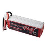 GARTPOT 14.8V 5000mAh 50C 4S Lipo Batería T Plug para RC Coche