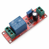Delay Timer Switch Adjustable 0-10sec With NE555 Electrical Input 12V 10A 2000W AC220V Module