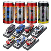 WLtoys Mini Coke Can Speed ​​RC Radio Fjernbetjening Micro Race
