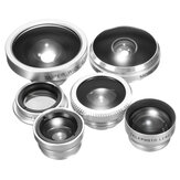 8 In 1 Portable Aluminum Alloy Lens Kit for Mobile Phone Photography